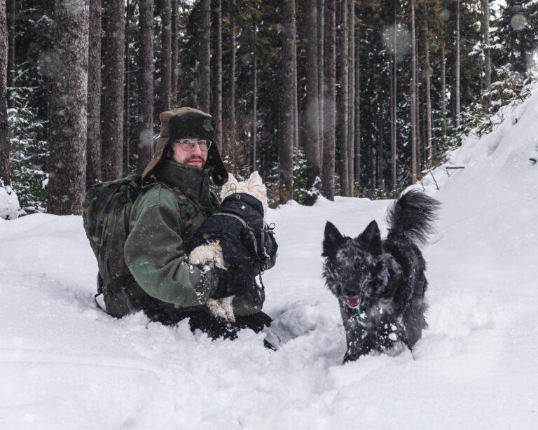 Zima z psem – naucz się na naszych błędach – pogoda i wybór trasy